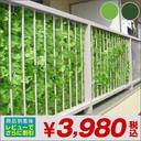 緑のカーテン グリーンカーテン 目隠しフェンス グリーンフェンス