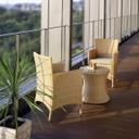 【60%OFF】【送料無料】《ガーデンファニチャー/ガーデンテーブルセット》【G-Style】アイビーコーヒーテーブル 3点セット